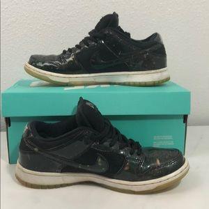 Nike Sb Intergalactic shoes.